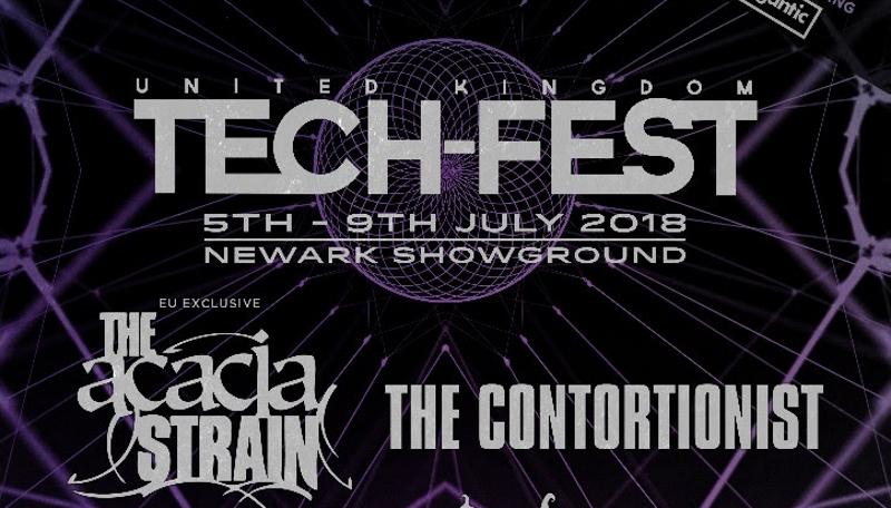 Tech-Fest 2018 First Line Up Poster Header Image