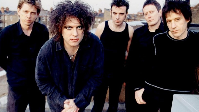 The Cure Band Promo Photo