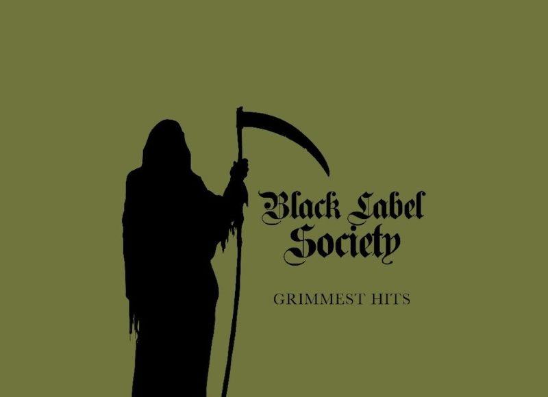 Black Label Society Grimmest Hits Album Cover Artwork