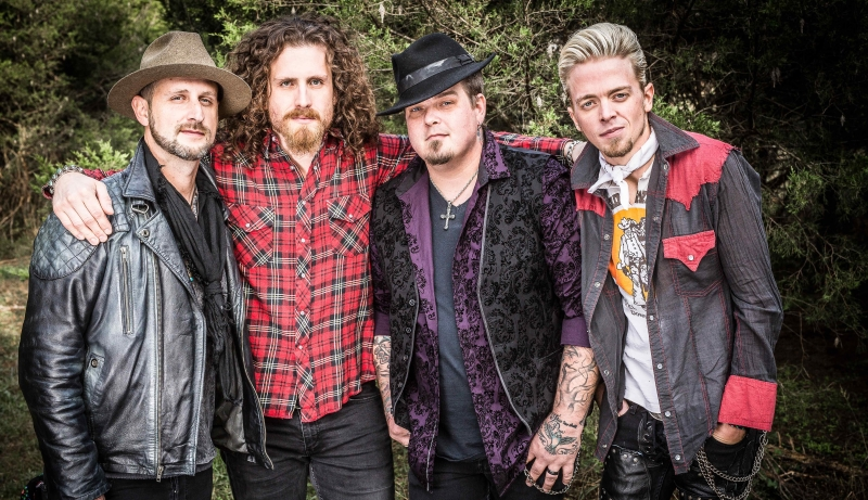 Black Stone Cherry Band Photo 2018 Credit Harry Reese