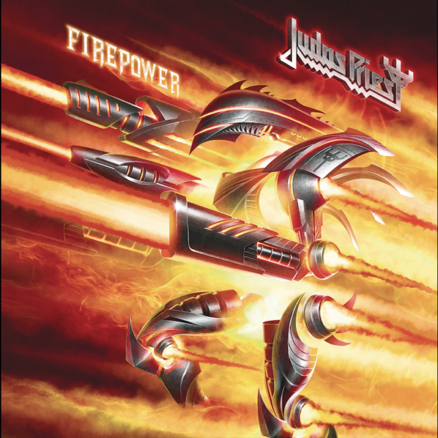Judas Priest - Firepower Album Cover Artwork