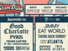 Slam Dunk Festival 2018 Full Line Up Poster Header