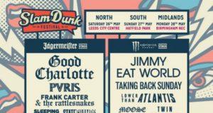Slam Dunk Festival 2018 Full Line Up Poster Header