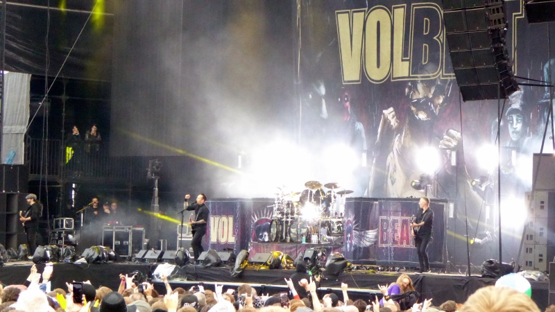 Volbeat Download Festival 2018