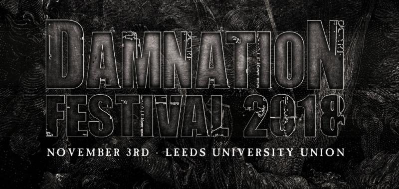 Damnation Festival Header Image 2018