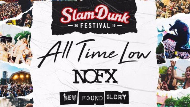 Slam Dunk Festival 2019 Header