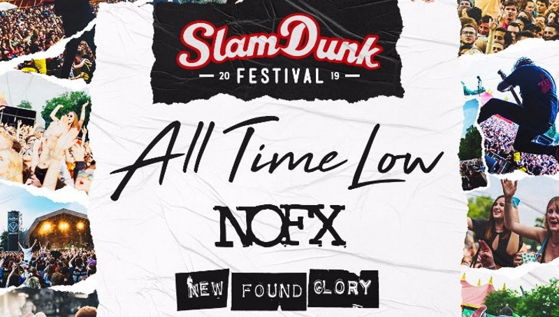 Slam Dunk Festival 2019 Header