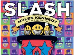 Slash Myles Kennedy Living The Dream Album Cover Artwork