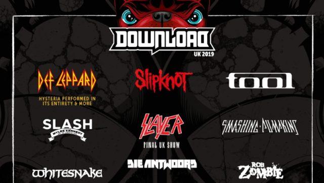 Download Festival 2019 Second Line Up Poster Header Image