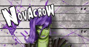 Novacrow Criminal Mastermind EP Cover Artwork