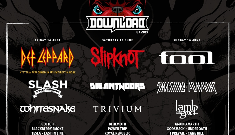Download Festival 2019 January Halestorm Line Up Header Image
