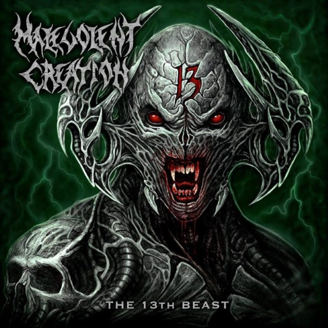 Malevolent Creation The 13th Beast Album Cover