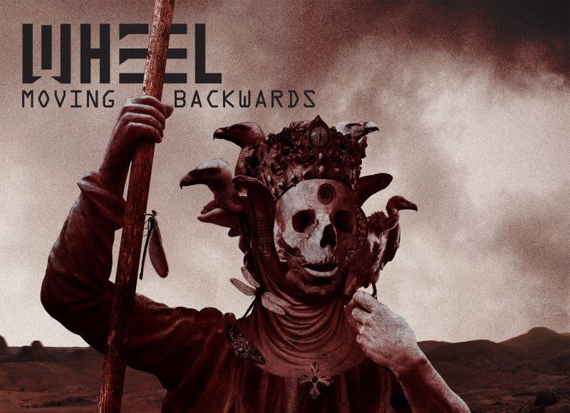 Wheel Moving Backwards Album Cover Artwork