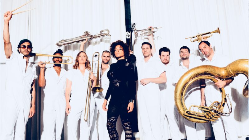 Brass Against Band Promo Photo