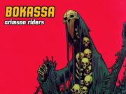 Bokassa - Crimson Riders Album Cover Artwork