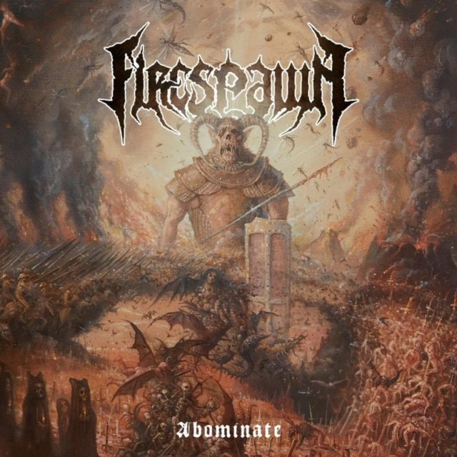 Firespawn - Abominate Album Cover Artwork