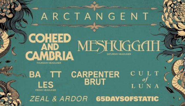 ArcTanGent Festival 2019 Line Up Header Image
