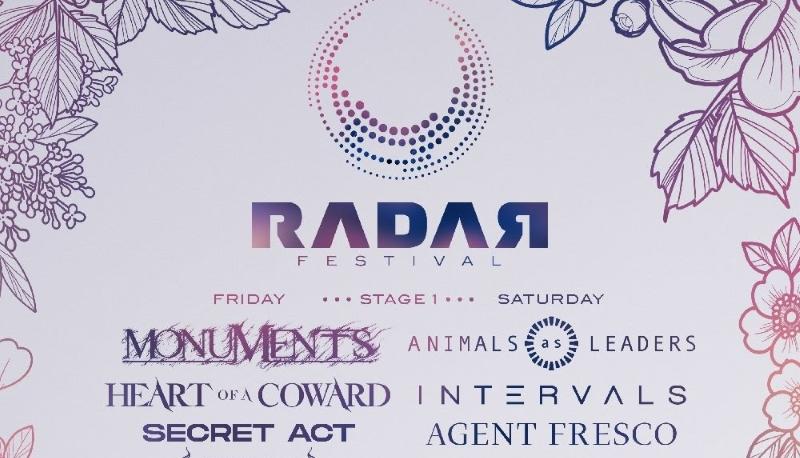 Radar Festival Line Up Poster 2019 Header Image
