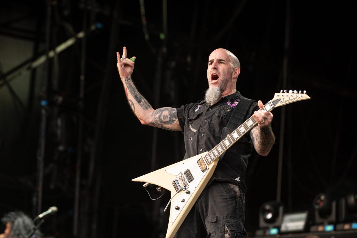 Scott Ian of Anthrax - Bloodstock Open Air Festival 2019 by Matt Higgs