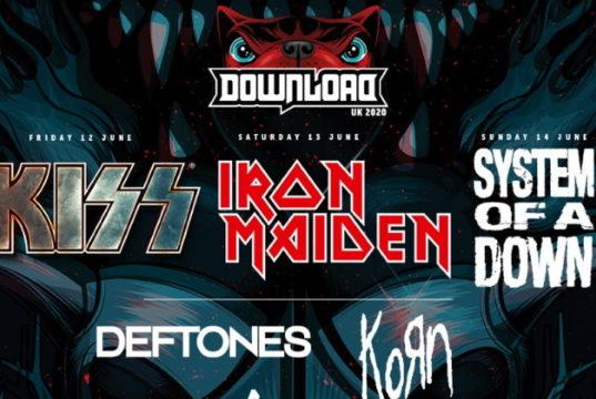 Download Festival 2020 First Line Up Header Image