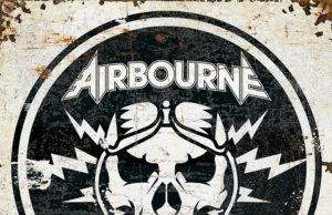 Airbourne - Boneshaker Album Cover Artwork