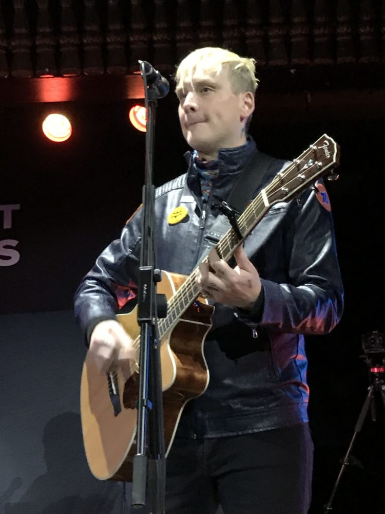 Matt Skiba Blink-182 Kingston Acoustic Show Pryzm October 18th 2019