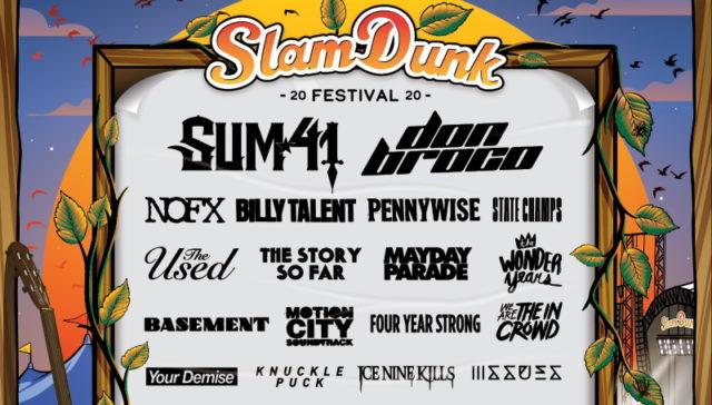 Slam Dunk Festival 2020 Second Line Up Poster Header Image
