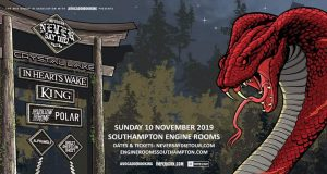 Impericon Never Say Die Tour Poster UK 2019