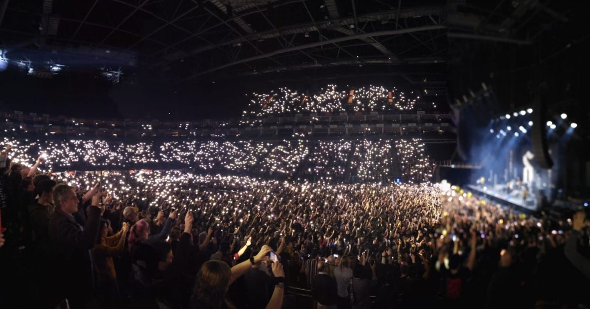 Shinedown Panoramic Photo, O2 Arena, 21st December 2019