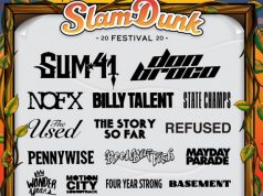 Slam Dunk Festival 2020 Third Line Up Announcement Header