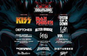 Download Festival 2020 4th Line Up Header Image