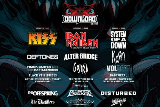 Download Festival 2020 4th Line Up Header Image