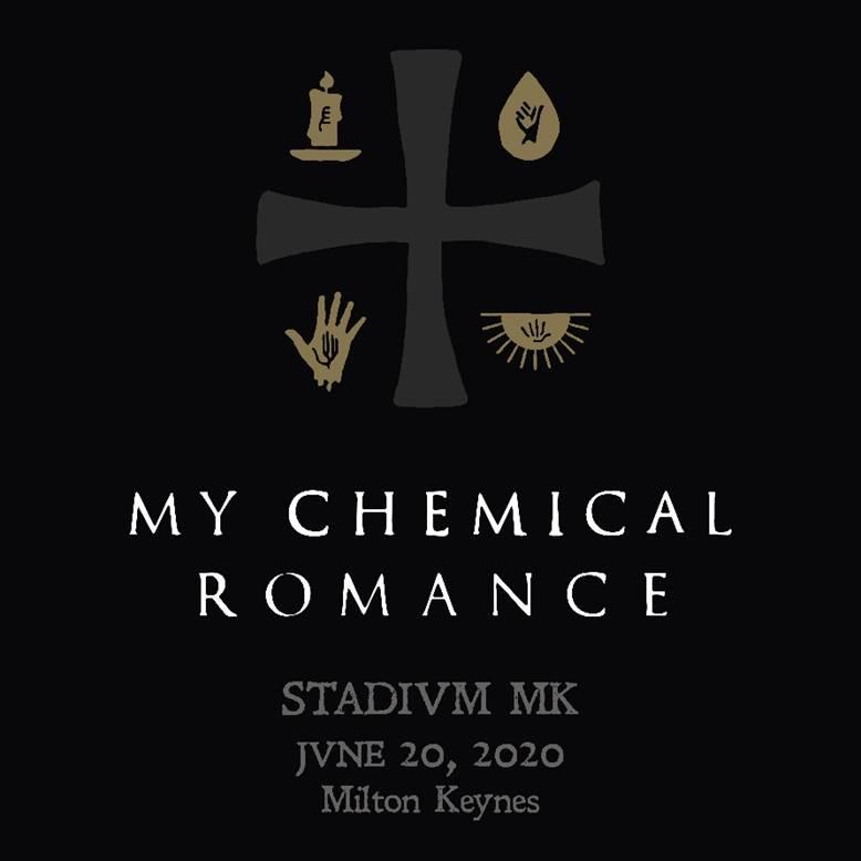 My Chemical Romance 2020 Stadium MK UK Show Poster