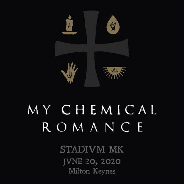 My Chemical Romance Stadium MK 2020 Show Poster