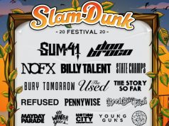Slam Dunk Festival 2020 Xmas Day Line Up Announcement Header