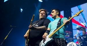 Jaret and Rob of Bowling For Soup - Victoria Warehouse, Manchester, 8th Feb 2020