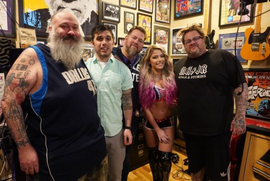 Bowling For Soup Alexa Bliss Group Photo