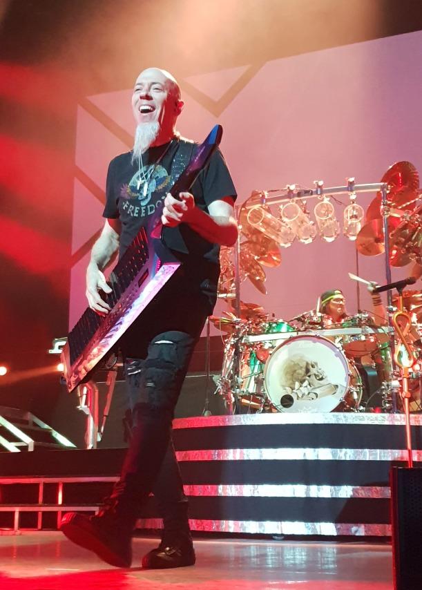 Dream Theater's Jordan Rudess on stage at London's Hammersmith Apollo, Feb 21st 2020 by Matt Hill