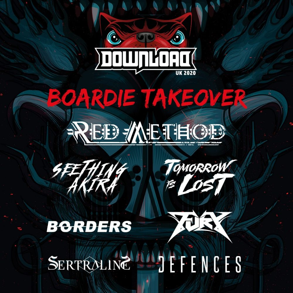 Download Festival 2020 Boardie Takeover Poster
