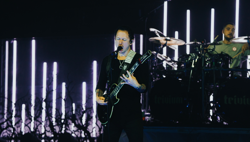 Trivium - Matt Heafy during A Light Or A Distant Mirror, 10th July 2020 at Full Sail University. Photo by @wheresbryce.