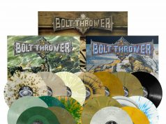 Bolt Thrower - Three Album Vinyl Re-Issues