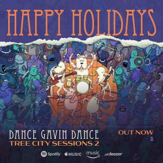Dance Gavin Dance – Tree City Sessions 2 Album Cover Artwork