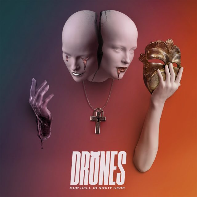 Drones - Our Hell Is Right Here Album Cover Artwork