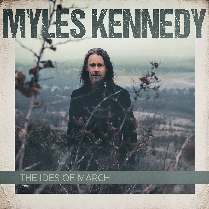 Myles Kennedy - The Ides Of March Album Cover Artwork