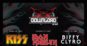 Download Festival 2022 Headliners Poster