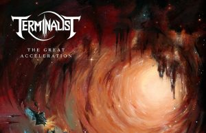 Terminalist - The Great Acceleration Album Cover Artwork