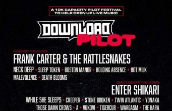 Download Pilot Festival 2021 Line Up Poster